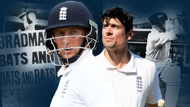 England could do with Don Bradman's services for the remainder of the Ashes.