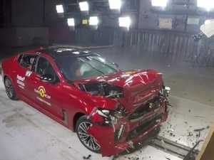 Kia Stinger crash test shock
