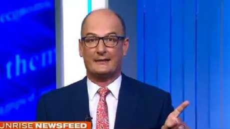 You're on your own, Kochie.