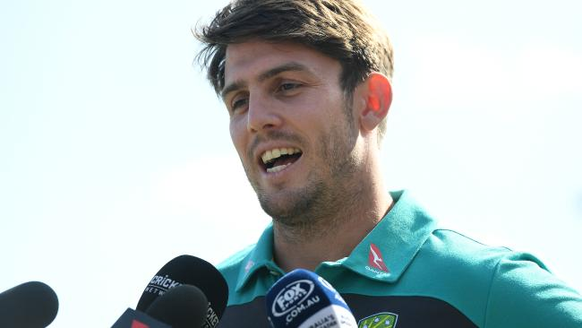 Mitchell Marsh has not quite lived up to expectation. (AAP Image/Dean Lewins)