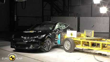 As is the case with cars not crash tested locally, the ANCAP ratings were derived from European raw data. Picture: Supplied.