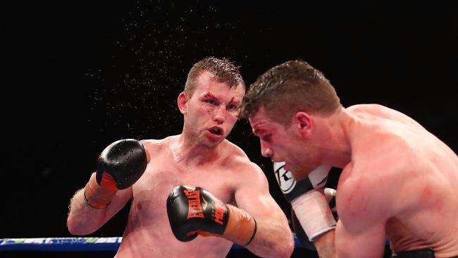 Jeff Horn retains his WBO welterweight world title against challenger Gary Corcoran.