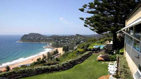 The magnificent view from Jonah's at Whale Beach.