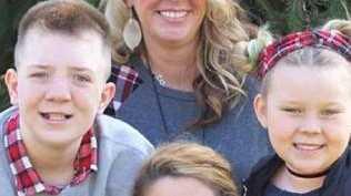 Kimberly Jones with her three children. Picture: Facebook