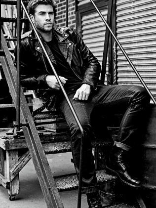 Liam Hemsworth modelled for Diesel.