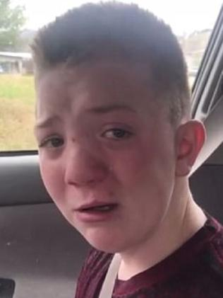 Officials say Keaton Jones was bullied. Picture: Supplied