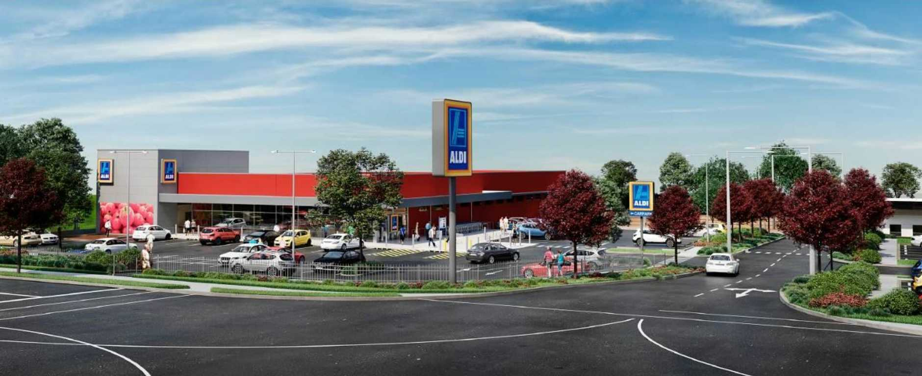 A new Aldi supermarket has been approved in Highfields.