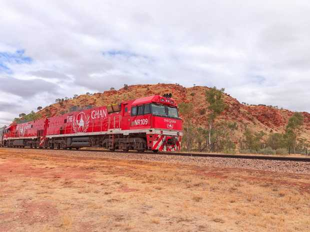The Ghan is SBS's first foray into