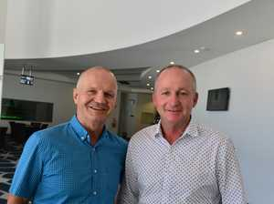 Mark Murray and Trevor Bailey at Maroochydore RSL for