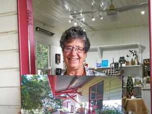 Art lover steps down at gallery