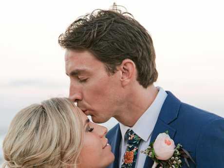 Newlyweds Alana and Mark Thinee.