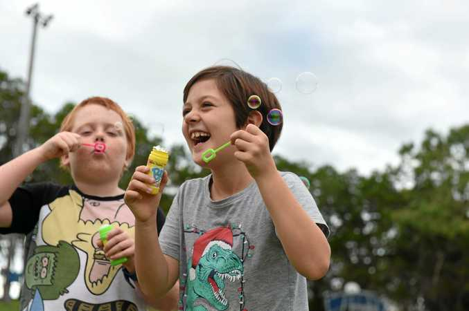 FUN TIMES AHEAD: Get ready for weeks of fun during the school holidays on the Fraser Coast.