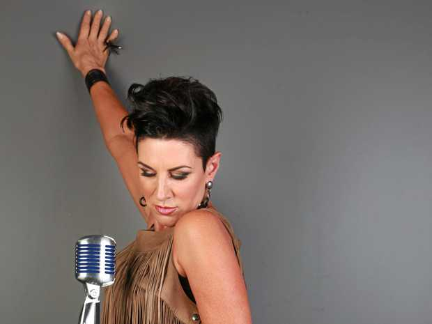 SASSY: Michelle Brown is performing in Eumundi.
