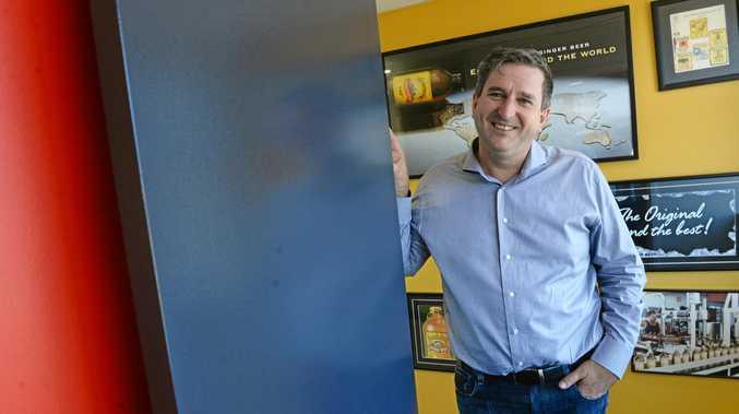 STRIDING AHEAD: Bundaberg Brewed Drinks CEO John McLean