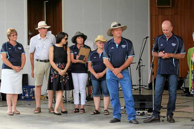 NOMINATE: Australia Day award nominations have been extended to December 18. Earlier in the year the Snowflakes on Stanthorpe (organisers pictured) took out community event of the year.