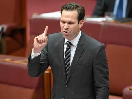 Australian Minister for Resources and Northern Australia Matt Canavan challenged the Queensland Premier on the role her veto would play on the outlook of Adani's Carmichael Mine project.