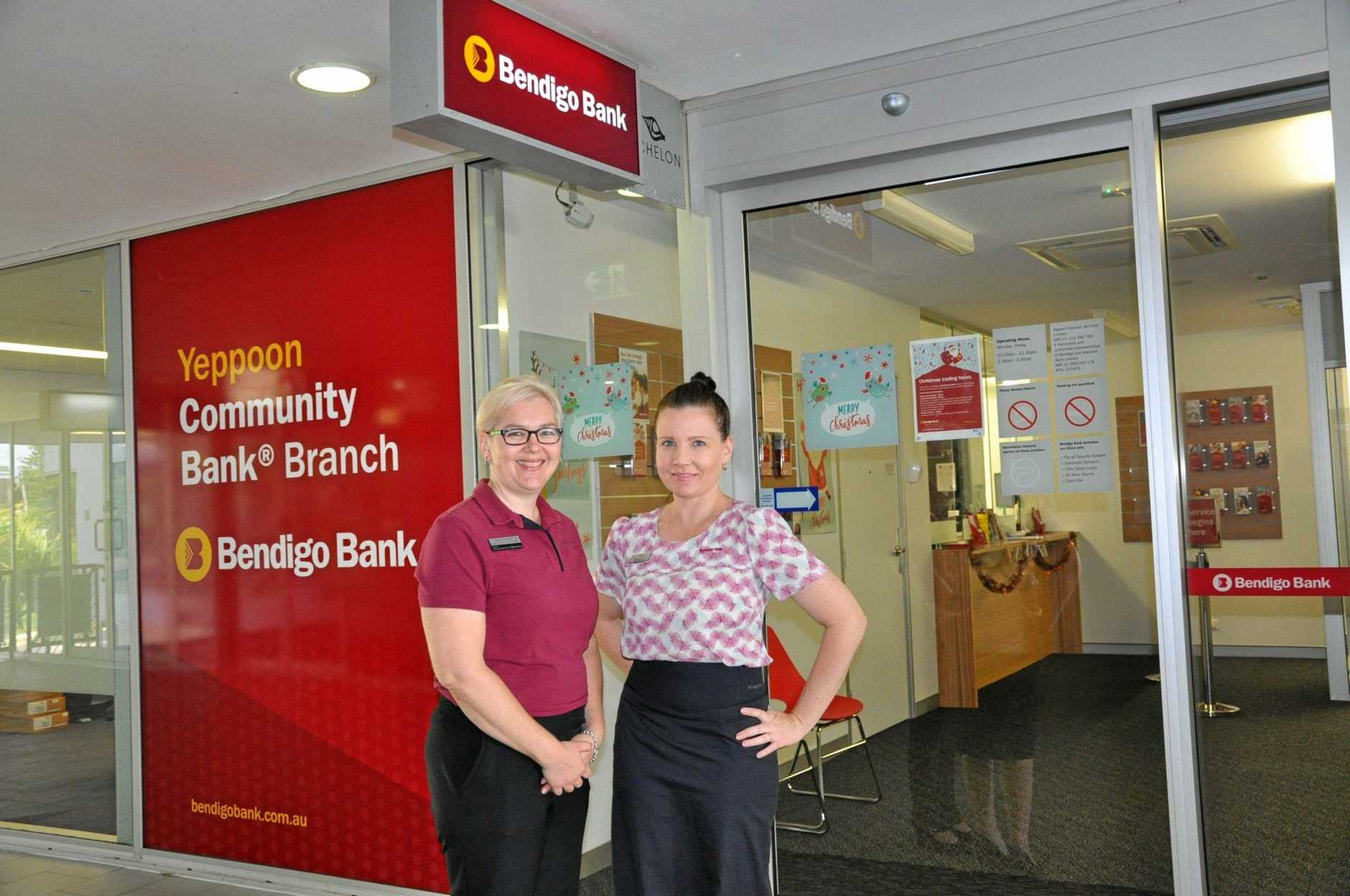 COME IN: Bendigo Bank has easy all-ability access from the undercover carpark at the Echelon building.