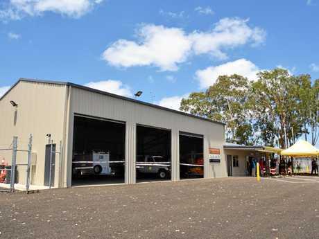 The new SES building in Nanango.