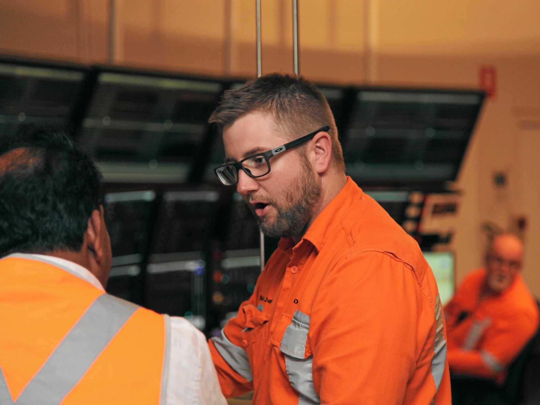 Rio Tinto Yarwun shift controller Kris Jeffery started his career as a trainee in 2004.