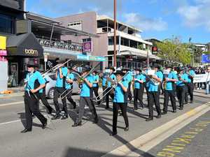 Prossie Citizens' Band on a festive run