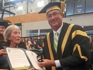 CQU honours Rocky woman, 92, for life's works