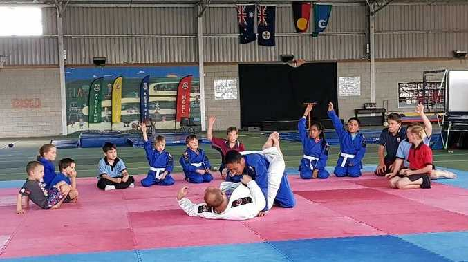 Grow Strong MMA in Warwick is offering free jui jitsu classes for kids in the lead up to Christmas.