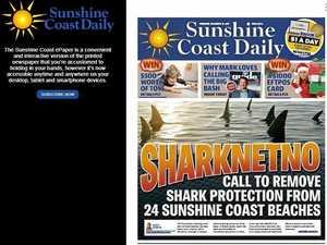 Digital edition of the Sunshine Coast Daily improved