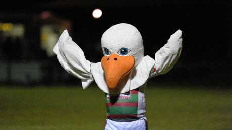 Rugby league - Seagulls V. ATW. Seagulls mascot James Hamilton had plenty to flap his wings about as Seagulls blitzed their opposition.