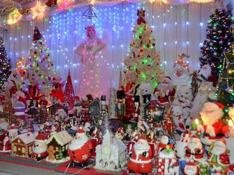 Lynden and Craig Pavy at 64 Law Rd won the Warwick's Christmas Lights Competition this year.