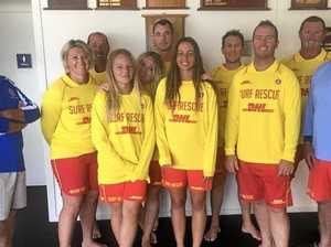 ABOVE: The new Yamba Surf Life Saving bronze medallion squad, which will be keeping the beach safe over the summer. RIGHT: New Yamba SRC squad.