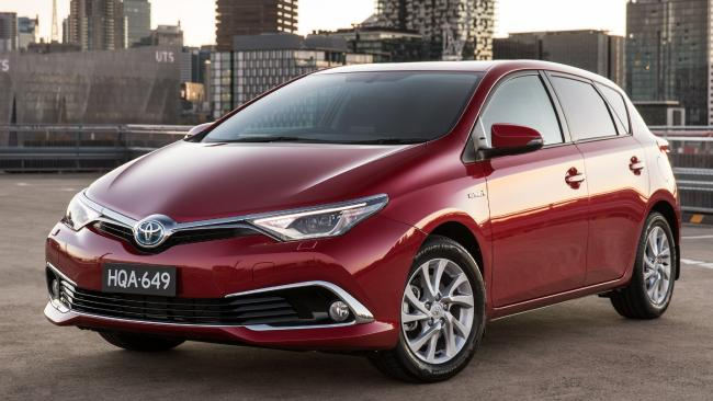 The Toyota Corolla Hybrid is a better proposition at its current price of $27,990 drive-away. Picture: Supplied.