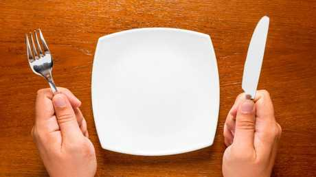It is much better to use a smaller plate.