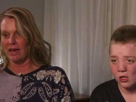 Kimberly Jones, the mum of bullied tween Keaton Jones, says she is not racist. Picture: Supplied