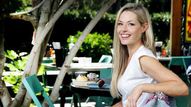 Author and actor Madeleine West. Picture: Nicole Cleary