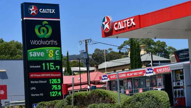 Fuel prices would increase at the Woolworths sites if BP buys them, according to the ACCC report. Pic: Keryn Stevens