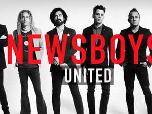 Newsboys and Peter Furler unite for 40 city tour