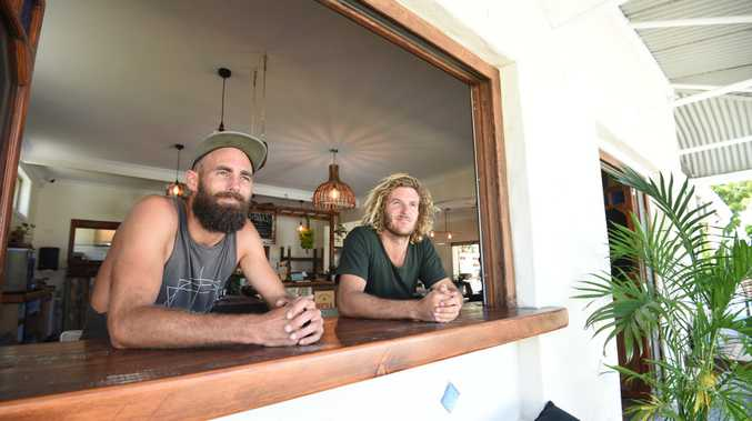 The Byron Bay General Store co-owners Ben Gordon and Phil Taylor said the store held special significance for them.