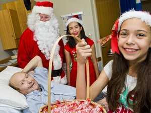 Santa at St Vincent's
