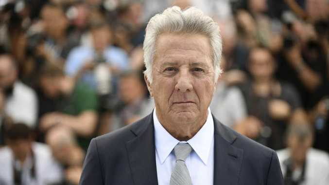 Dustin Hoffman at the 70th international film festival in Cannes.