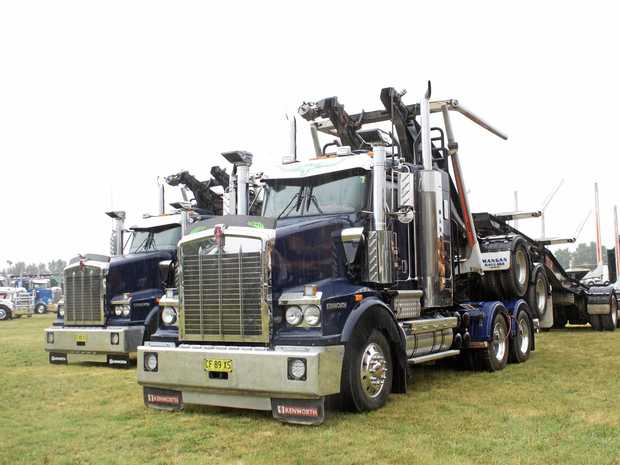 FANTASTIC SHOW: James Cremona took some great shots of the rigs on display at the Bathurst Show.