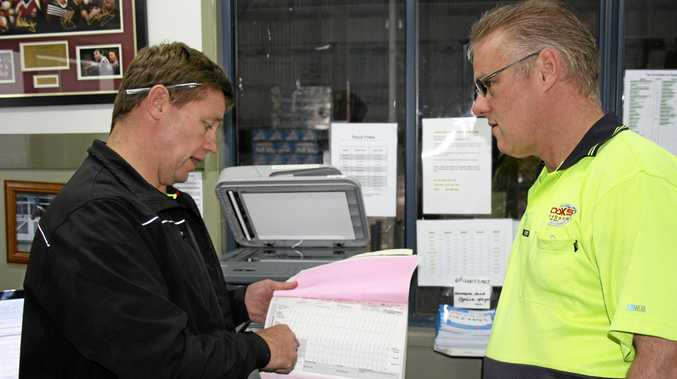 OUT WITH THE OLD: NHVR will release new electronic work diaries.