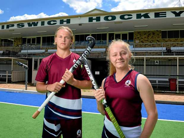 Rising talents Zac Profke and Talicia Canty have been selected to represent Australia on an overseas school tour next year.