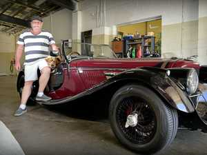 Race track to Roadster: One of one Jag for sale