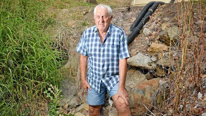 Woolooga resident Barry Hawke has been left frustrated by a fight with council which left him with a $45,000 bill and a lot of questions.