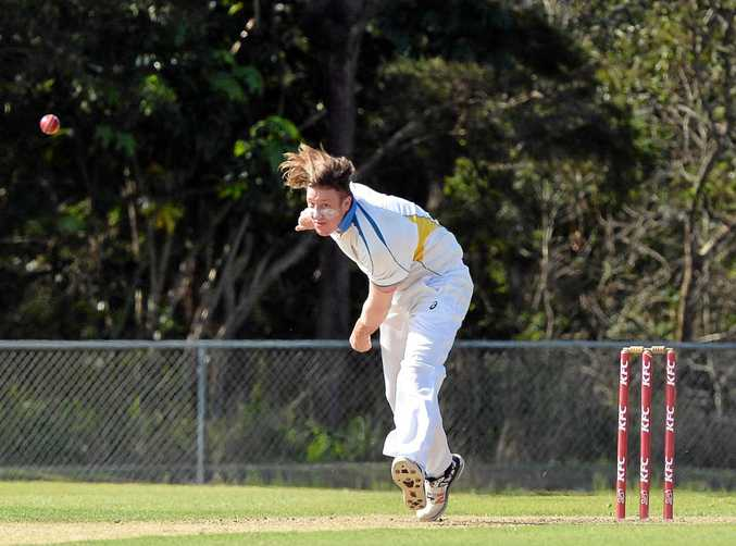 CRICKET: Nambour's bowler Sam Eiby produced a record-breaking 6/21 during the T20 final.