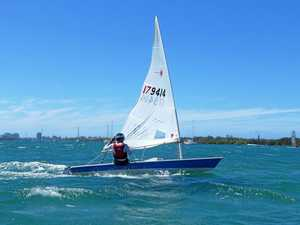 Tweed Valley sailors brave strong winds