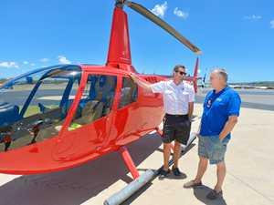 New chopper transfers from Gladstone to Heron Island