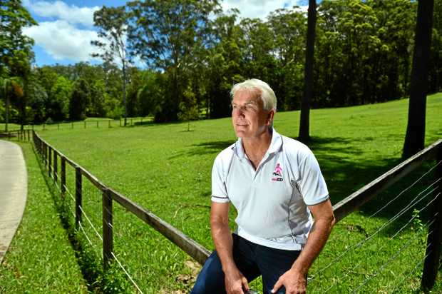 VISIONARY: Mark Forbes is in the process of acquiring a property in Mooloolah to build Australia's first residential treatment facility for eating disorders.