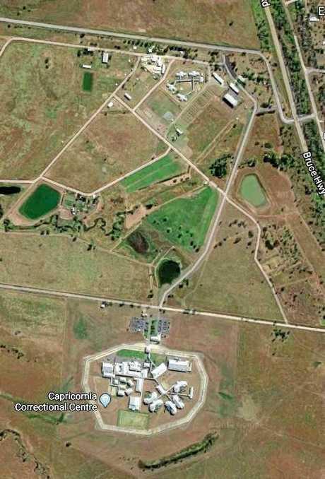 Capricornia Correctional Centre as seen on Google Maps.