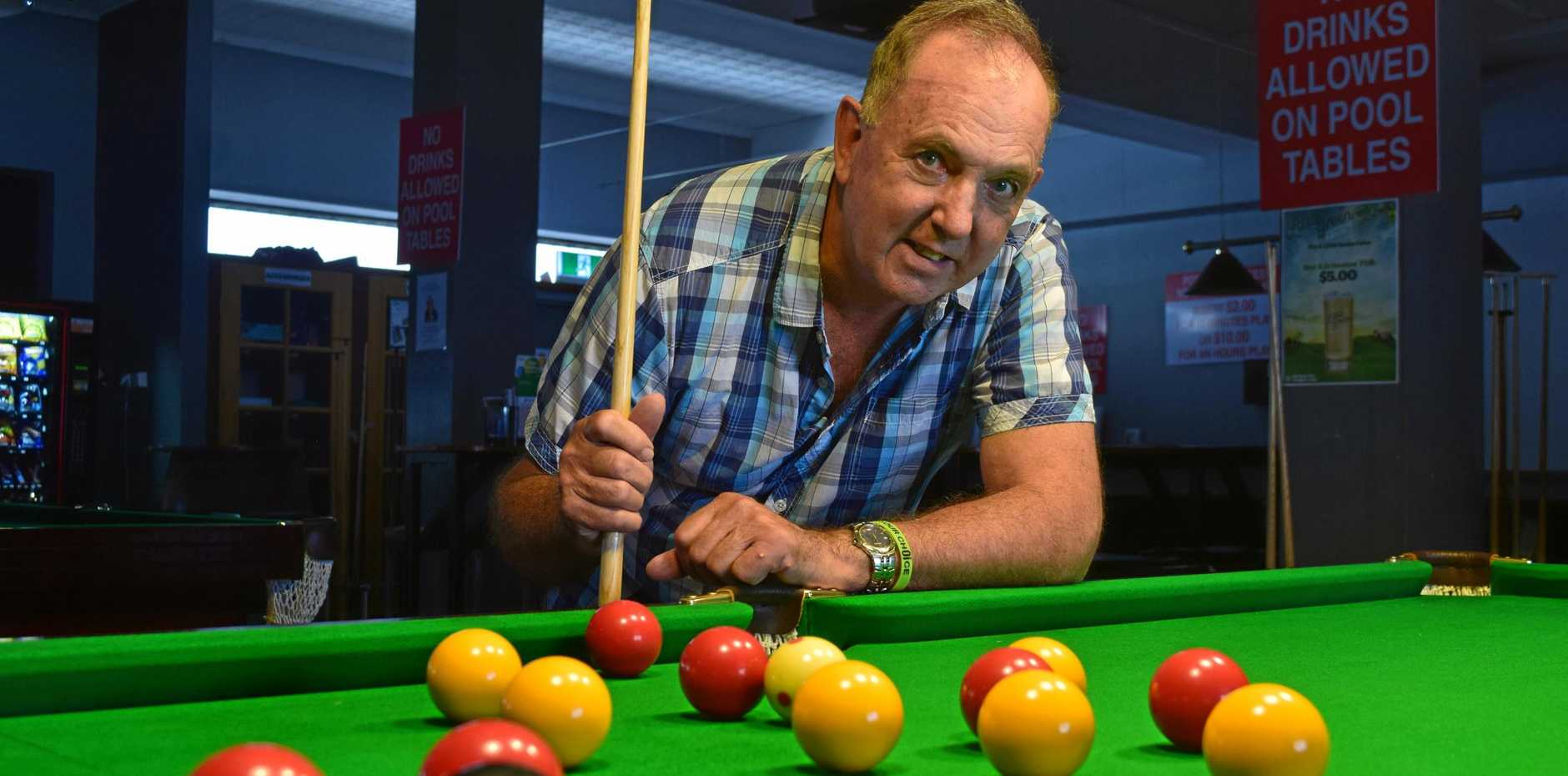 TURNAROUND: Paul Baxter is now investing in his business just to survive, including installing new pool tables and attracting bands for the younger demographic.